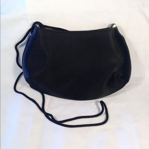 Black Vintage Crossbody Evening Bag